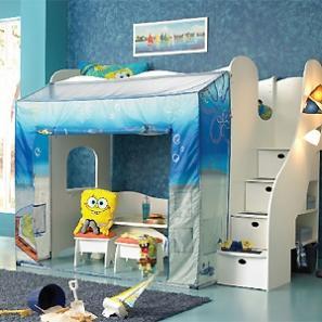 Decoracion de dormitorios infantiles para varones - Dormitorios tematicos infantiles ...