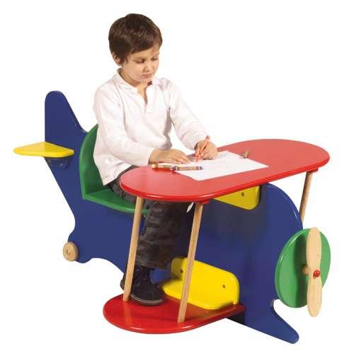escritorio avion
