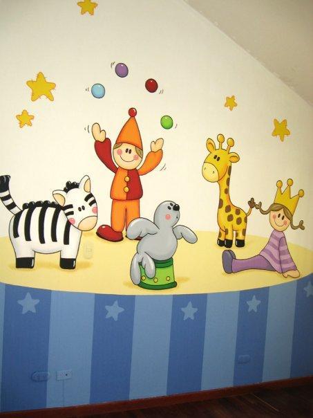 Decoraci n para cuartos infantiles ni os imagui - Decoracion paredes habitacion infantil ...