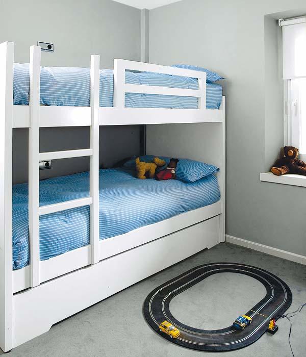 Fotos camas literas infantiles imagui - Camas infantiles blancas ...