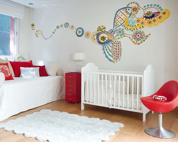 Ayuda decorar habitacion del bebe con gotele decorar - Decoracion dormitorio infantil nino ...
