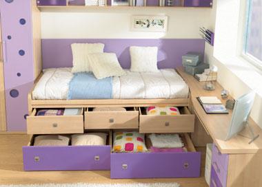 Camas nido de dormitorios infantiles com for Muebles de dormitorio infantil