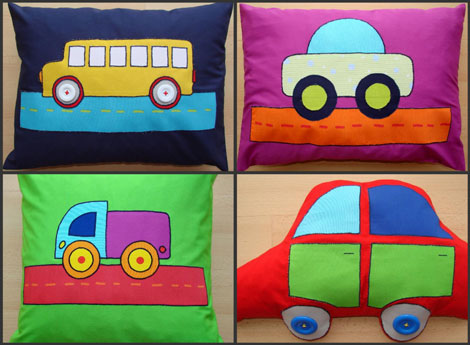 Como hacer cojines decorativos infantiles - Imagui