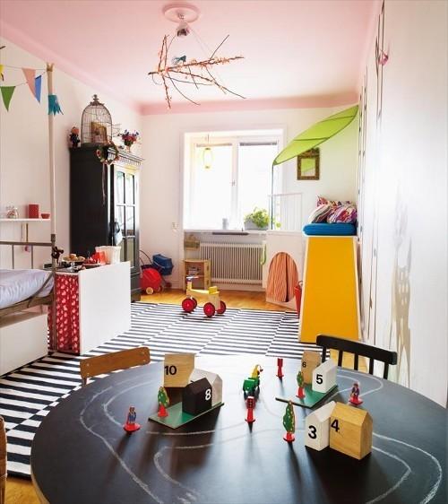 Dormitorio de ni a divertido de dormitorios infantiles com - Dormitorio infantil nina ...
