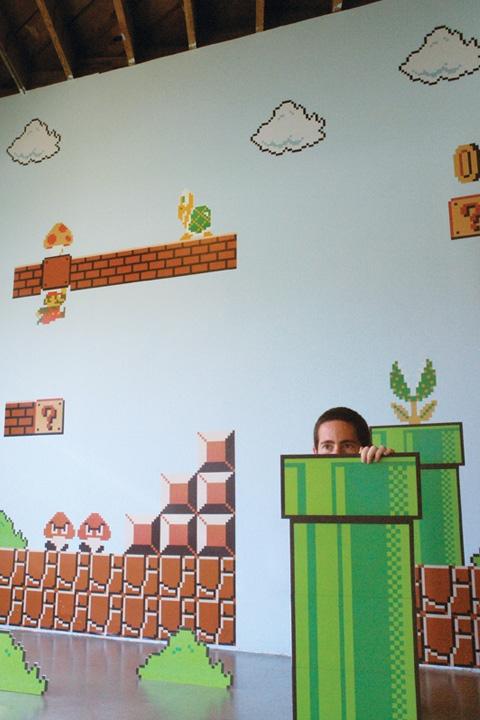 adhesivos de pared super mario