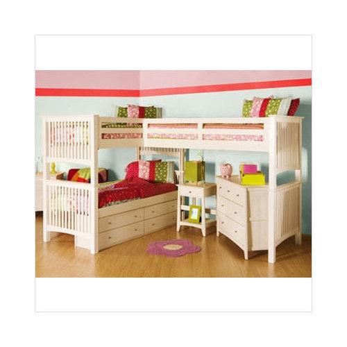 Camas loft infantiles dormitorios infantiles for Camas en ele infantiles