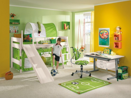 dormitorio niño futbol
