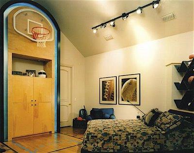 Dormitorios tematicos de basquet dormitorios infantiles - Dormitorios infantiles tematicos ...
