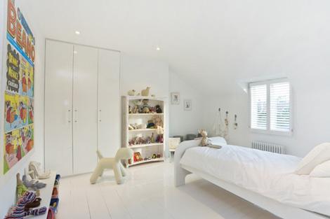 dormitorios infantiles blancos