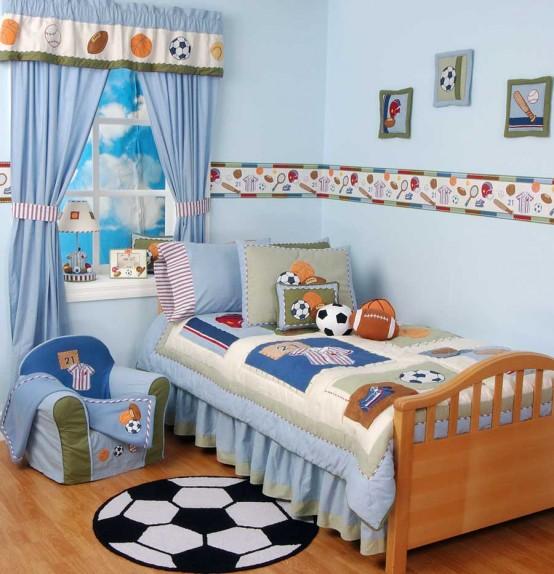 Motivos deportivos – Dormitorios Infantiles