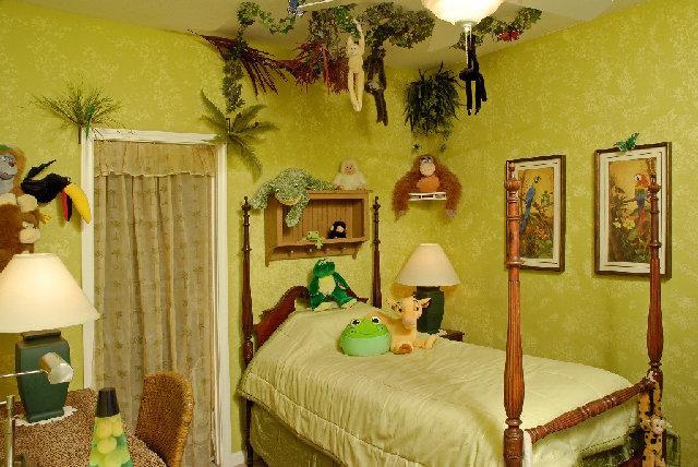 dormitorios infantiles tematicos selva