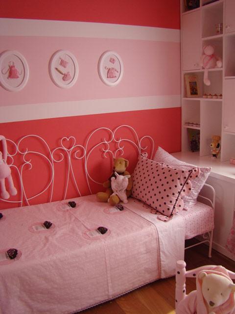 dormitorio niña rosa