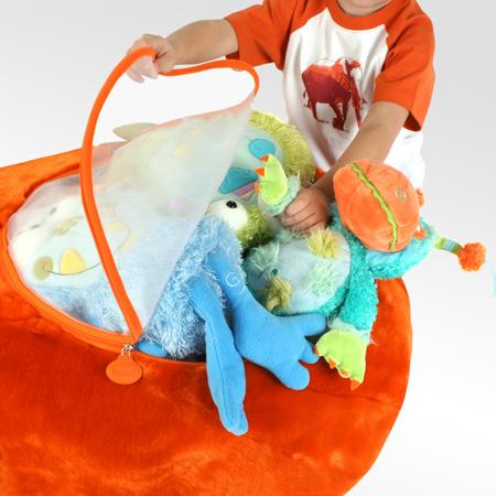 bolsas almacenaje juguetes