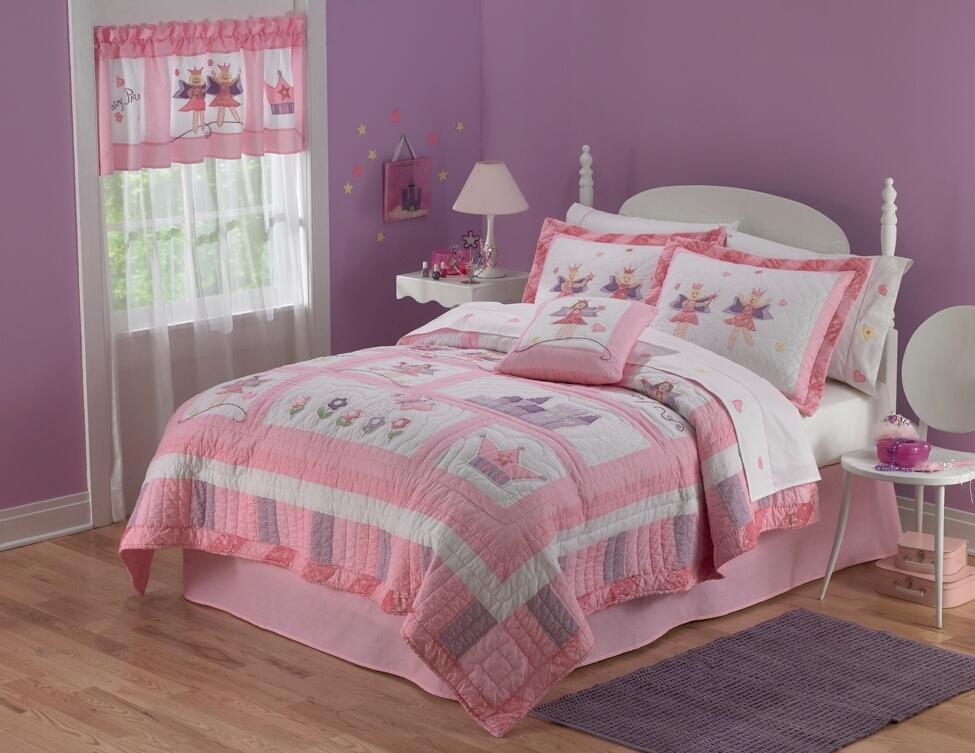 Dormitorio de hadas color lila dormitorios infantiles - Dormitorio infantil nina ...