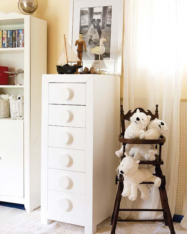 Dormitorio infantil de hadas y duendes dormitorios for Dormitorio nina blanco