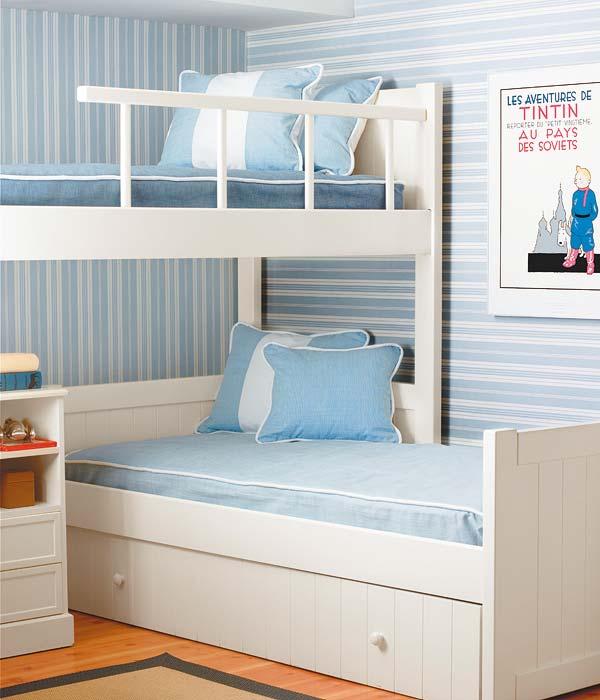 Como disponer las camas en los dormitorios infantiles dormitorios infantiles - Dormitorios infantiles literas ...