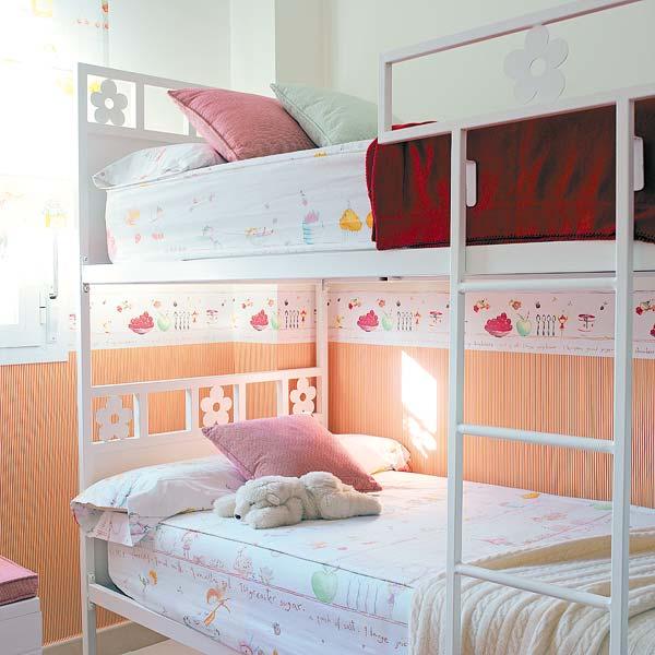 dormitorio infantil para hermanas