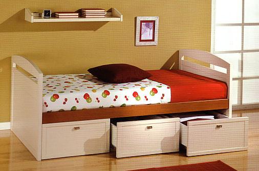 Camas nido dormitorios infantiles for Camas nido infantiles