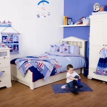 Azul y blanco – Dormitorios Infantiles