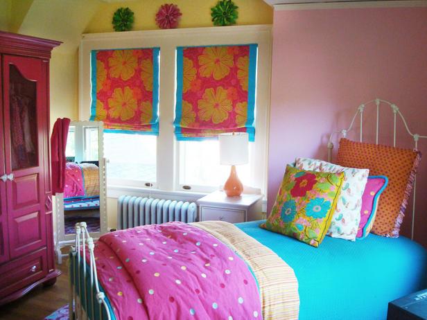 dormitorio infantil colorido de niña