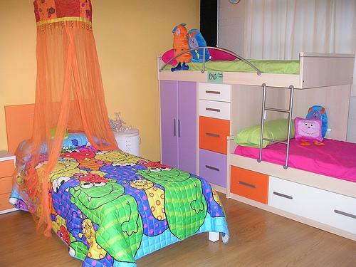 dormitorios infantiles nina